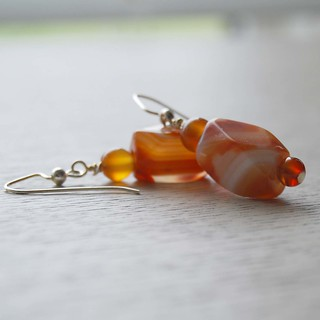 Orange Bliss Earrings