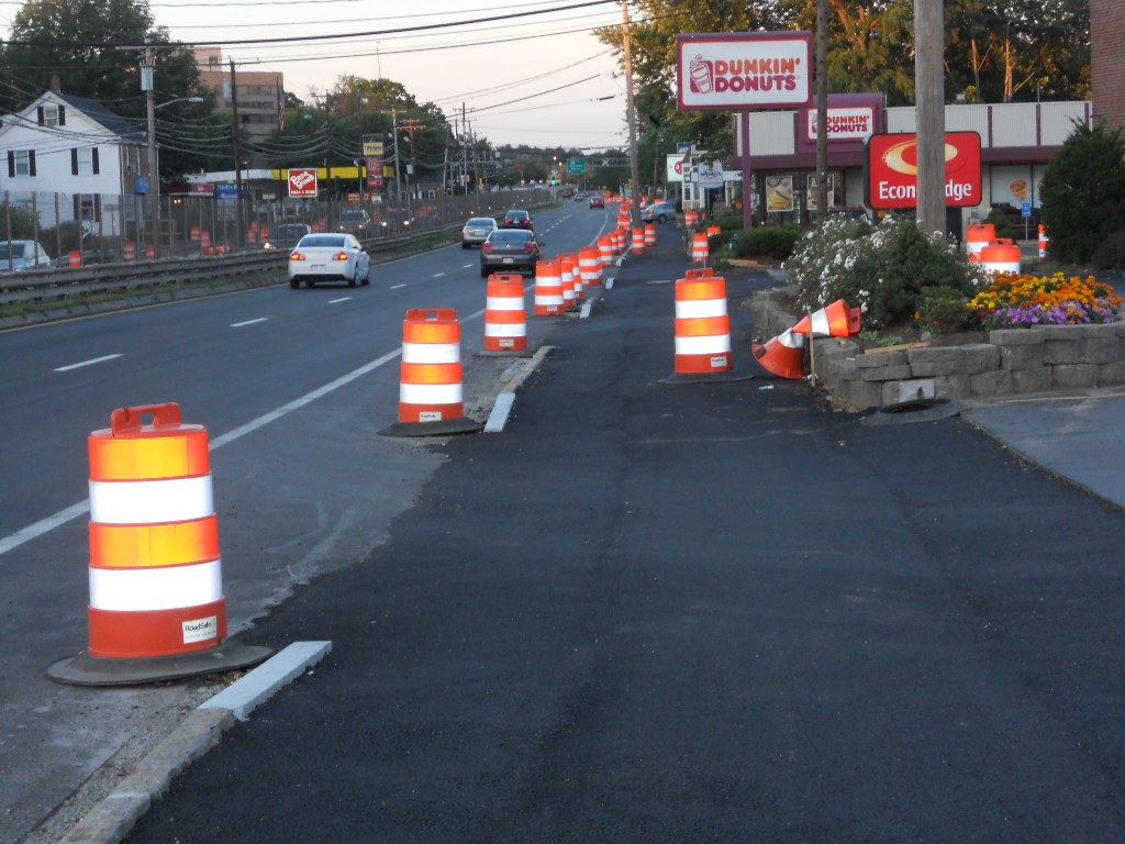Route 9 Reconstruction, Natick-Framingham, July 2010