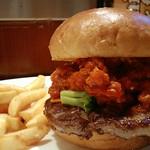Beaf offal burger from Mos Burger Clasic @ Kagurazaka