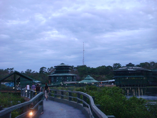 walkway to main towers | by tawaone