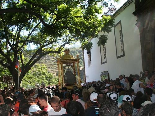 Salida del Santuario