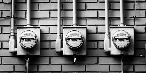 county summer urban panorama white black detail geometric monochrome canon photography eos mono downtown pattern stitch geometry clayton pano july wells electricity photomerge arkansas meter usm shape saline ef 1740mm 2010 benton f4l 40d img381113pano
