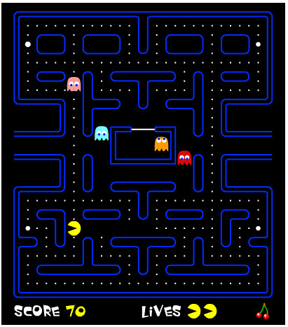 Pac-Man [game] | by methodshop.com