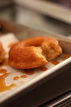 salted butter caramel doughnut | by David Lebovitz