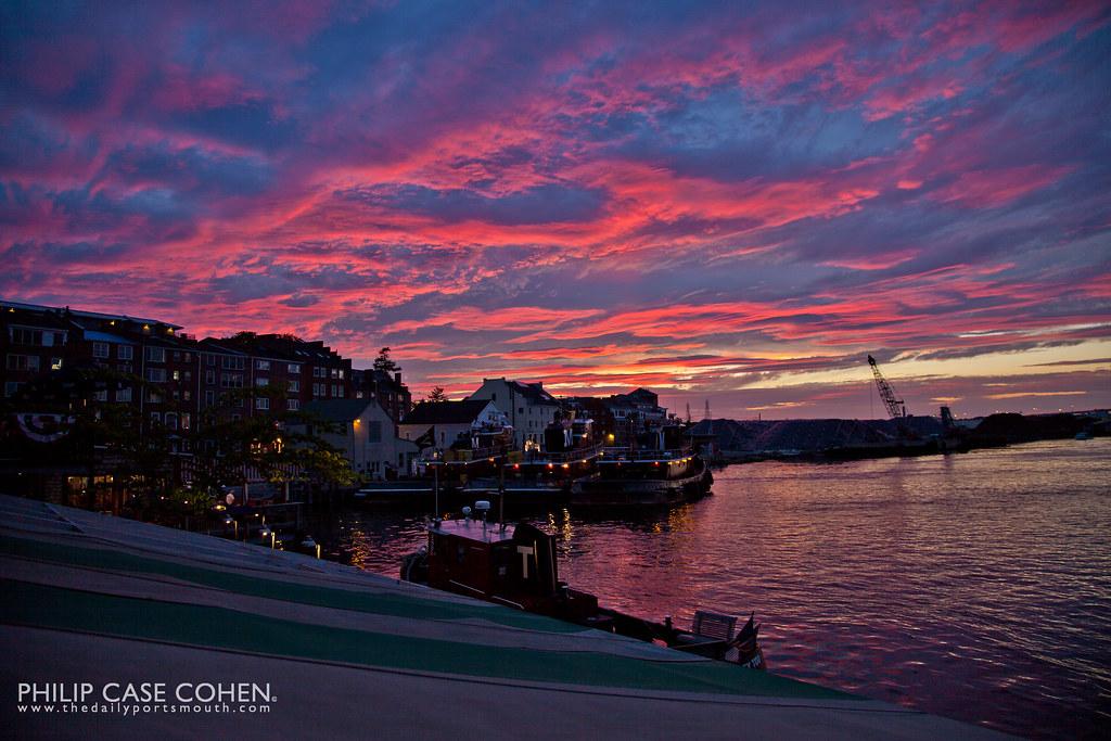 Sunset by Philip Case Cohen