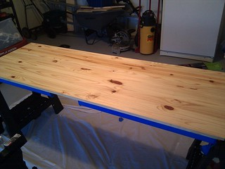 Top, conditioned and ready for staining. | by Paul Roub