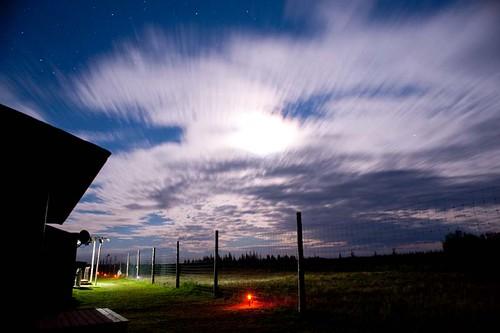 Night at Nanuk Lodge