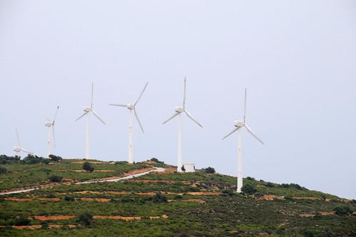 Wind turbine farm | by World Bank Photo Collection