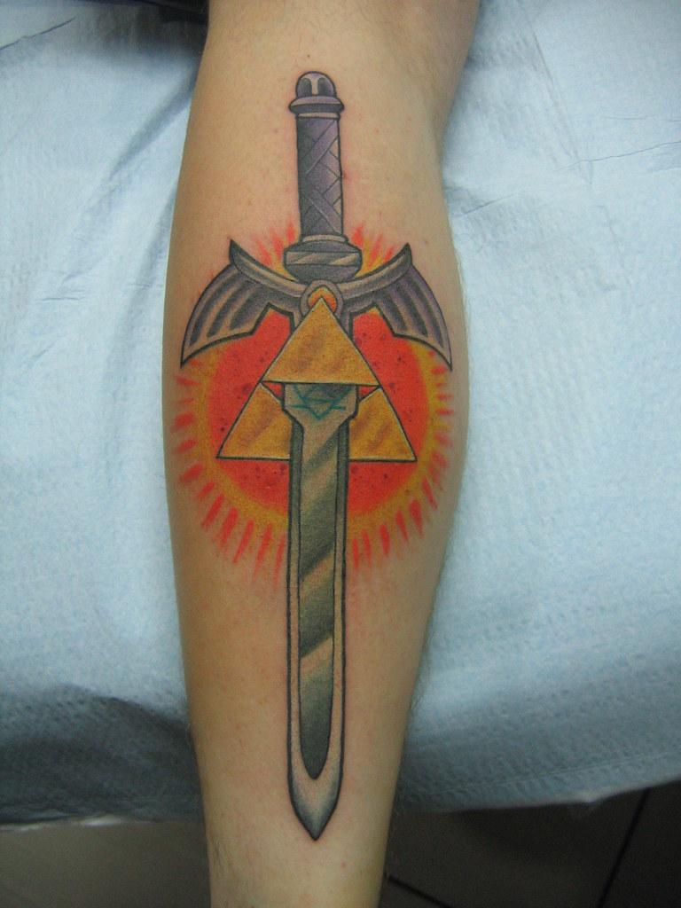 zelda- master sword