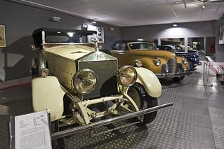 Museum of Automobile History. Rolls-Royce Silver Ghost . 1922. Salamanca. Castilla y León. Spain