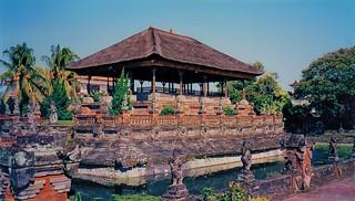 Kertha Gosa Pavilion of Klungkung Palace, Bali, Indonesia