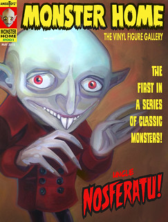 Monster Home Famous Monsters advertisement | by ribefex.customs