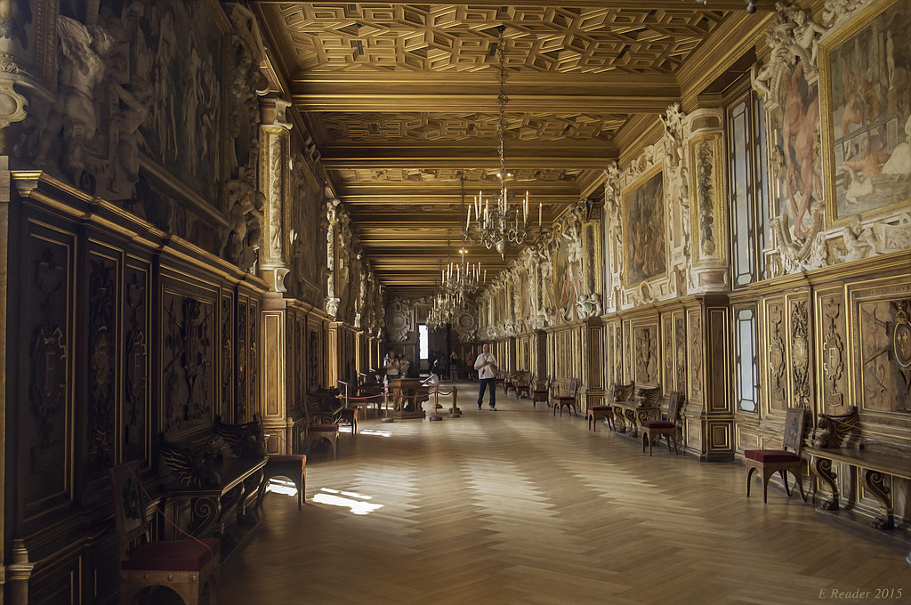 Palace Of Fontainebleau Gallery Of Francis I The Gallery