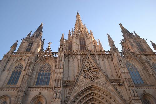Catedral de Barcelona Frosch-Perspektive | by Janko Hoener