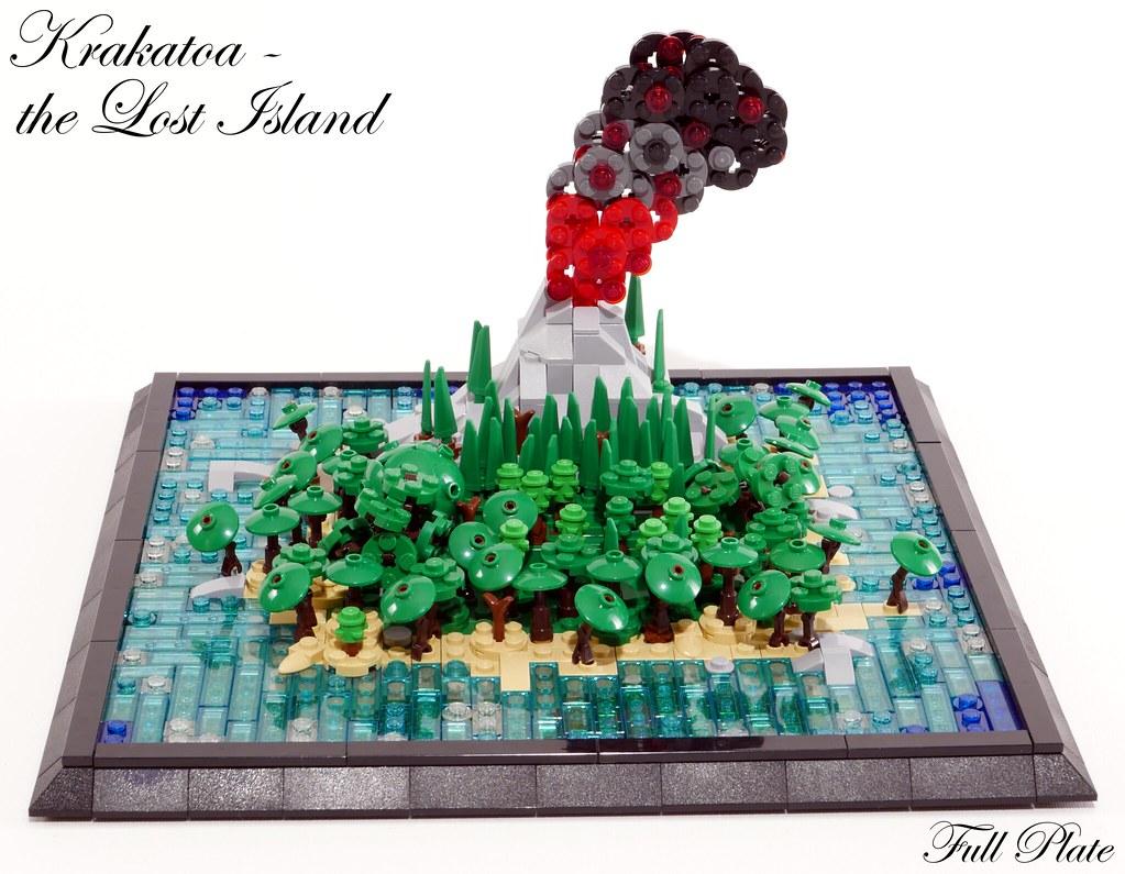 Full Plate - Krakatoa - The Lost Island