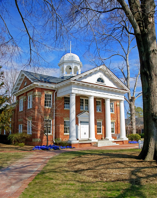 Historic Chesterfield County Court House 1590