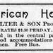 1889 - American House hotel - Enquirer - 20 Jul 1889