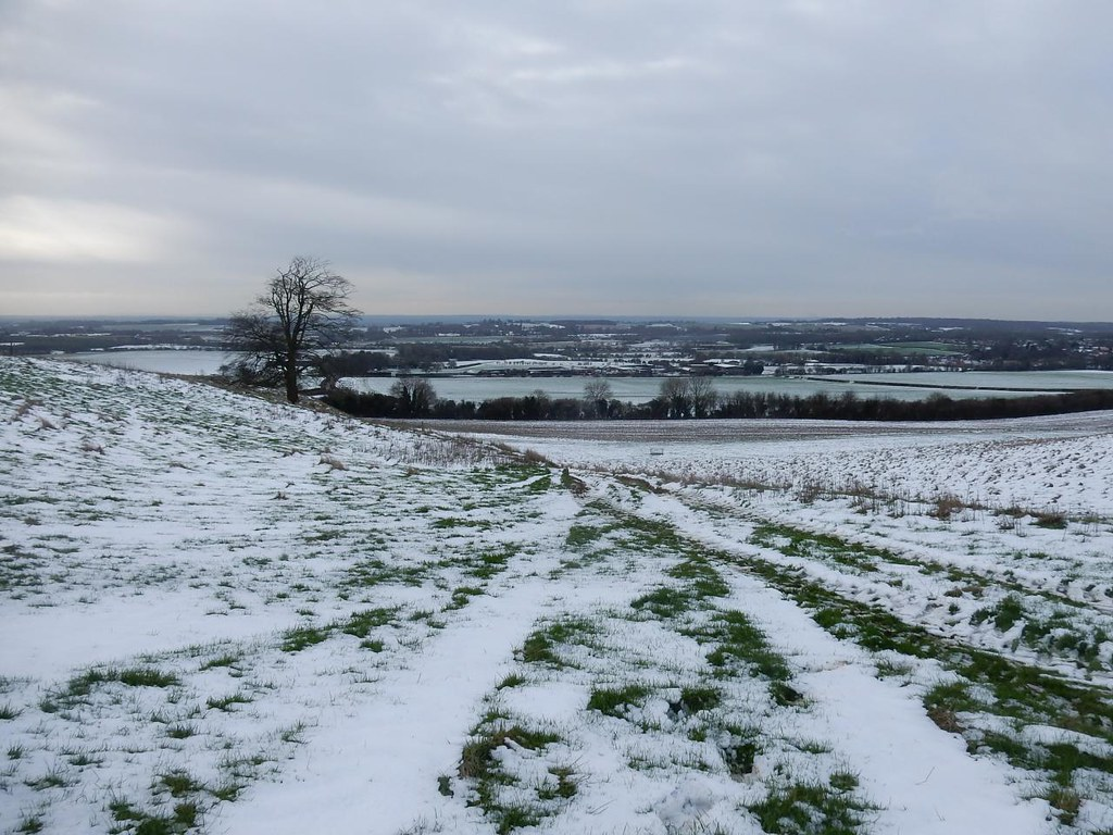Icy wastes Lenham to Charing