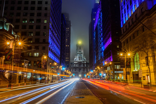 lights night cityhall urban philly southbroadstreet philadelphiacityhall nightphotography city longexposure philadelphia broadstreet pennsylvania unitedstates us nikon d800e