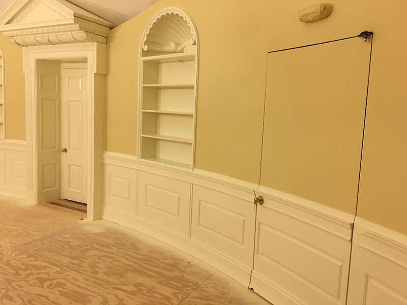 Beaded Curved Raised Panels And Hidden Door Project 41300 Flickr