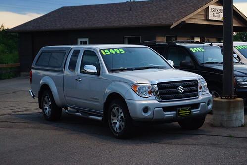 2012 Suzuki Equator Pick-Up Photo