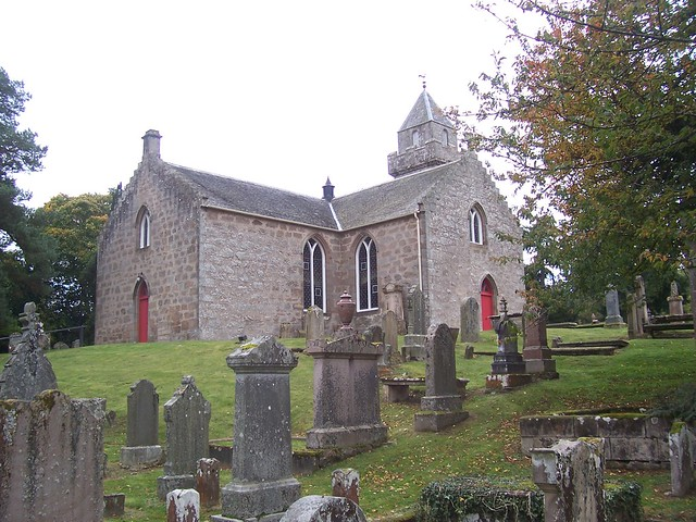Cawdor Parish Church, Nairn, 10th October 2008