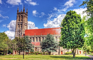 St Marys Portsmouth HDR   by Hexagoneye Photography