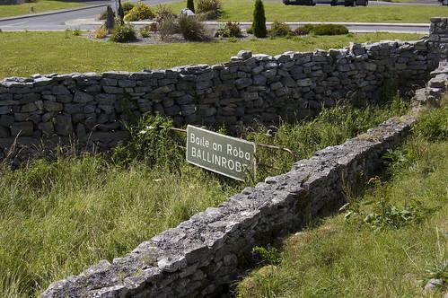 ireland sign signage countymayo ballinrobe