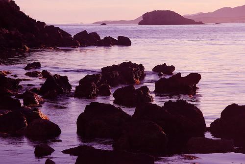 sunset españa naturaleza nature rock marina landscape atardecer see mar spain paisaje murcia espagne roca mediterráneo mazarrón marathoniano