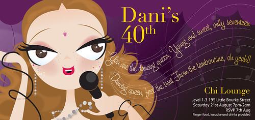 Birthday Invitation   by Eva Collado Molleda