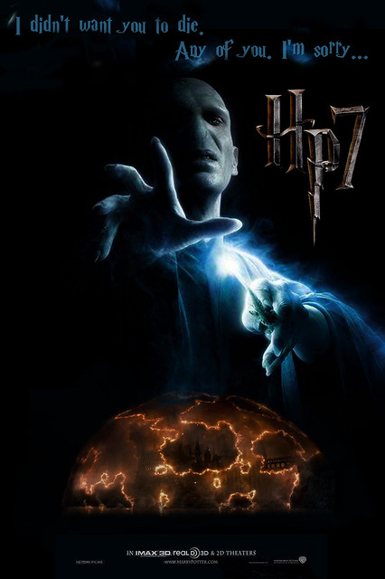 Voldemort Movie Poster HP 7
