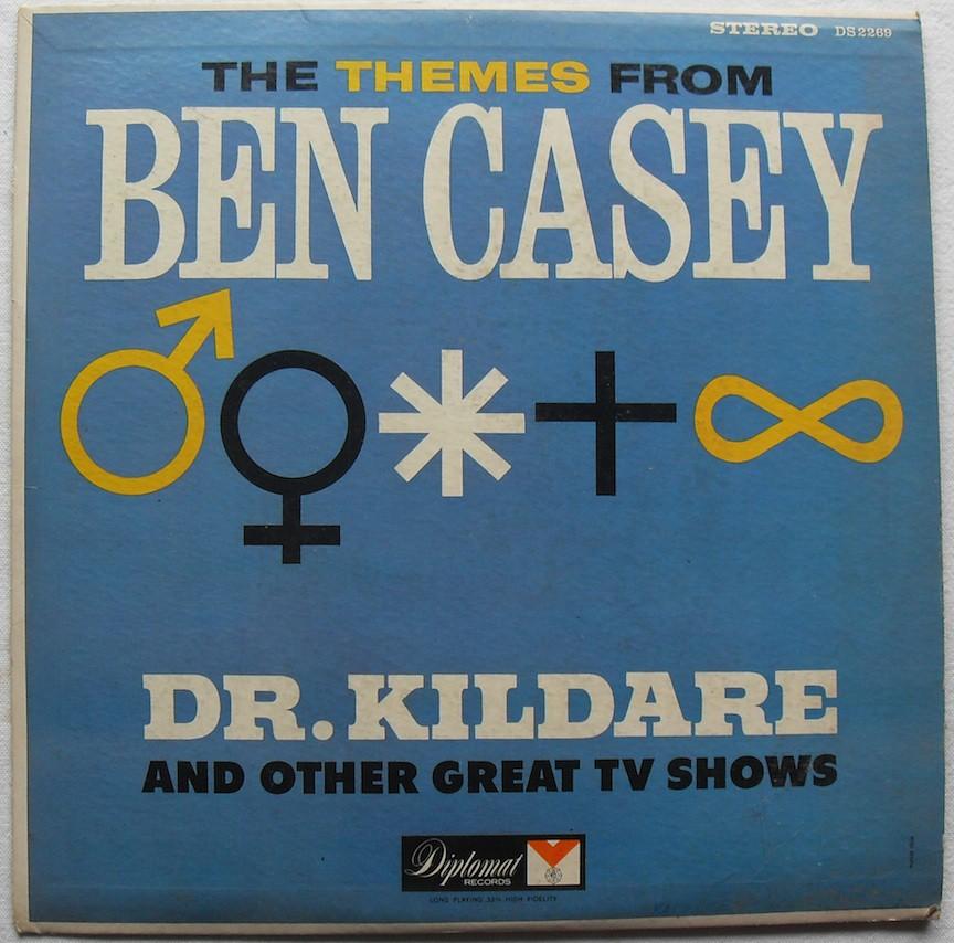 1960s BEN CASEY Dr  Kildare TV Theme Songs RECORD LP VINYL