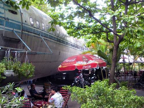 Airplane Cafe in Saigon | by AmericanVietnamese