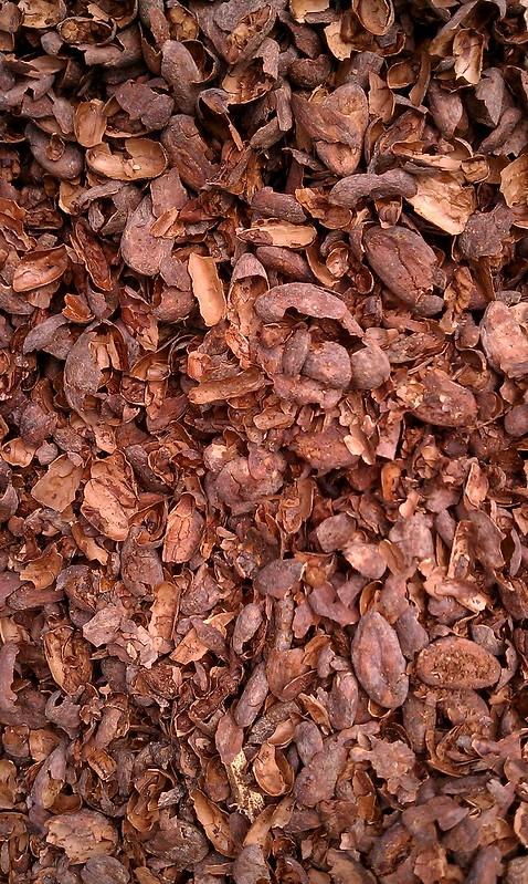 Cacao hulls