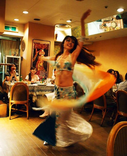 An oriental dancer