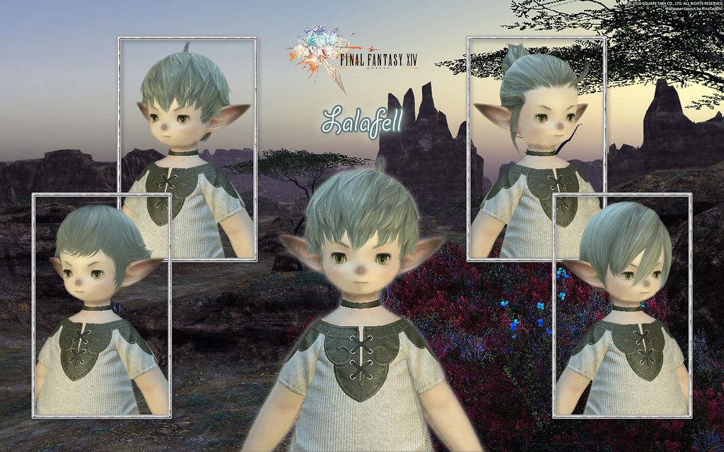 Lalafell Male Hairstyle Wallpaper | Lalafell Male Hairstyle