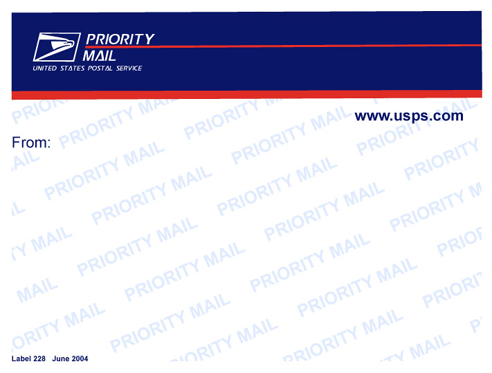 USPS 228 Vector | Made in Adobe Illustrator CS5  | Doubt