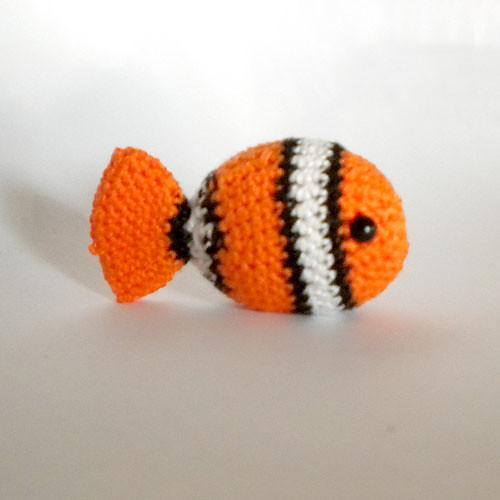 Clown fish | Amigurumi | Acrylic | Children | Abejitas | A ... | 500x500
