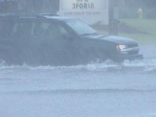 half hour of rain - flash flood | by kthypryn