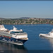 The season of cruise ships in Norway 2009