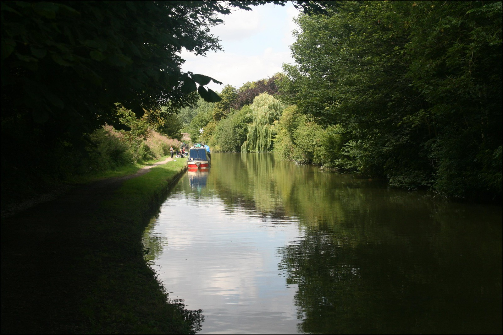 The Grand Union Canal near Tring