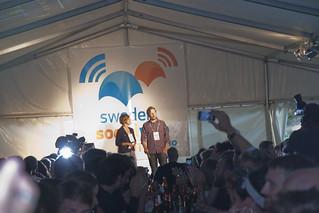 SSWC presidents: Thomas Wennström and Kristin Heinonen