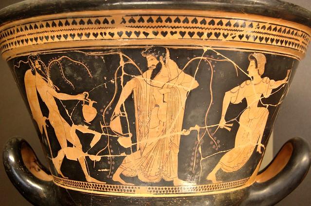 -0515 Dioniso, satiro y ménade