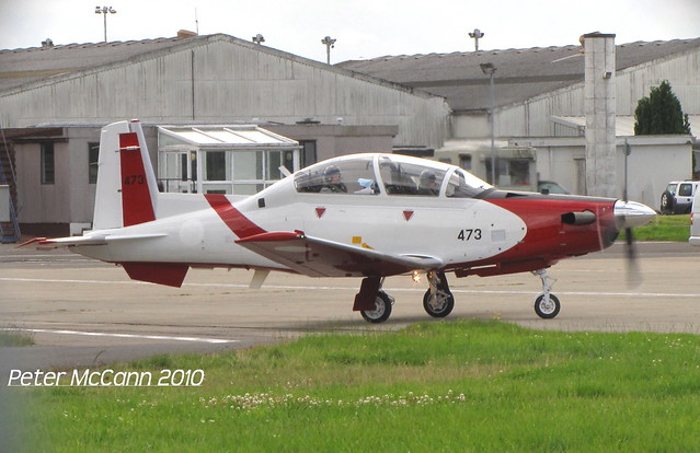473 Texan T-6 Israeli Air Force Glasgow August 2010