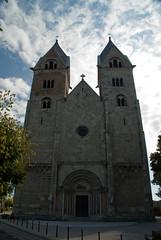 A templom homlokzata