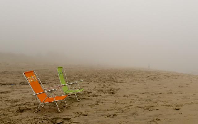 Fog at the Beach - Cape May Point, NJ