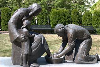 Washing feet | by Ed Bierman