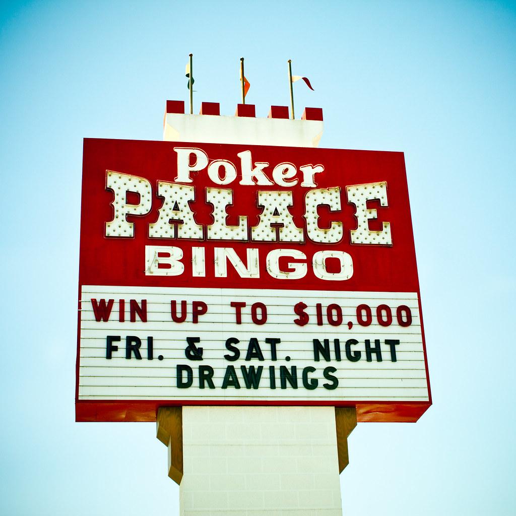 Poker palace bingo
