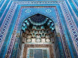 Shah-i-Zinda, Samarkand   by Fulvio Spada