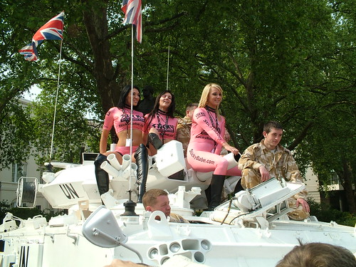 Babes on a Tank